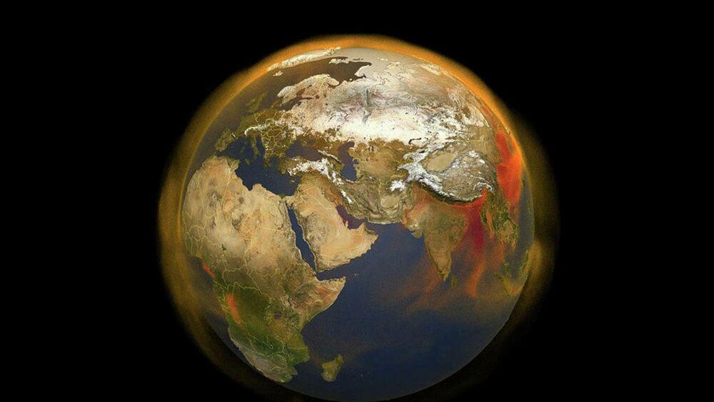 La nuova mappa 3D della NASA traccia l'accumulo e il movimento atmosferico di metano