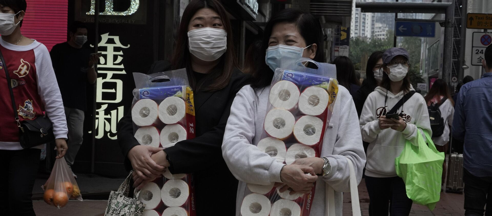 Coronavirus in Cina - Sputnik Italia, 1920, 27.01.2021