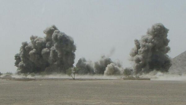 Bombardamento aereo in Afghanistan  - Sputnik Italia
