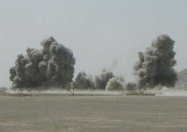 Bombardamento aereo in Afghanistan