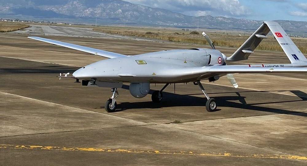 Drone turco Bayraktar TB2