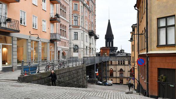 Uno scorcio del centro di Stoccolma - Sputnik Italia
