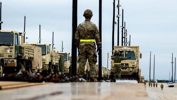 Preparativi per la manovra NATO Defender Europa 2020 in Texas - Sputnik Italia