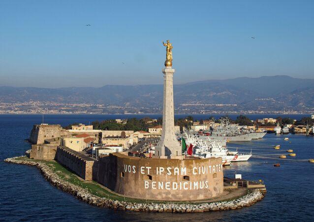 Messina Madonna della Lettera - Forte San Salvatore