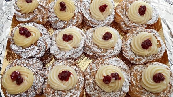Zeppole, dolci, panetteria, pasticceria - Sputnik Italia