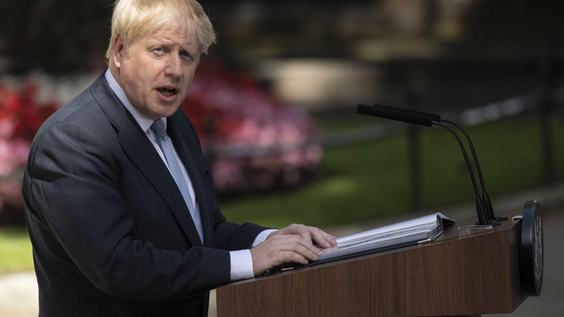 Il primo ministro del Regno Unito Boris Johnson - Sputnik Italia, 1920, 31.07.2021