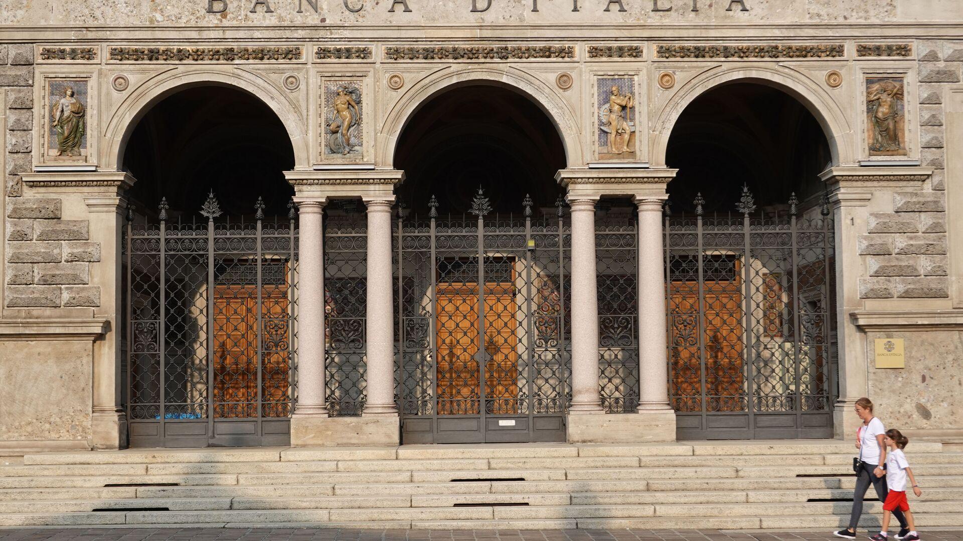 Banca d'Italia - Sputnik Italia, 1920, 06.02.2021