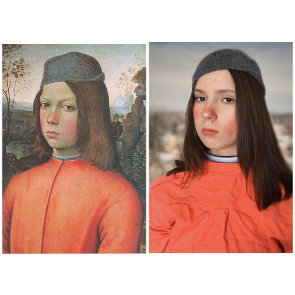 Ritratto di un ragazzo di Pinturicchio, 1500