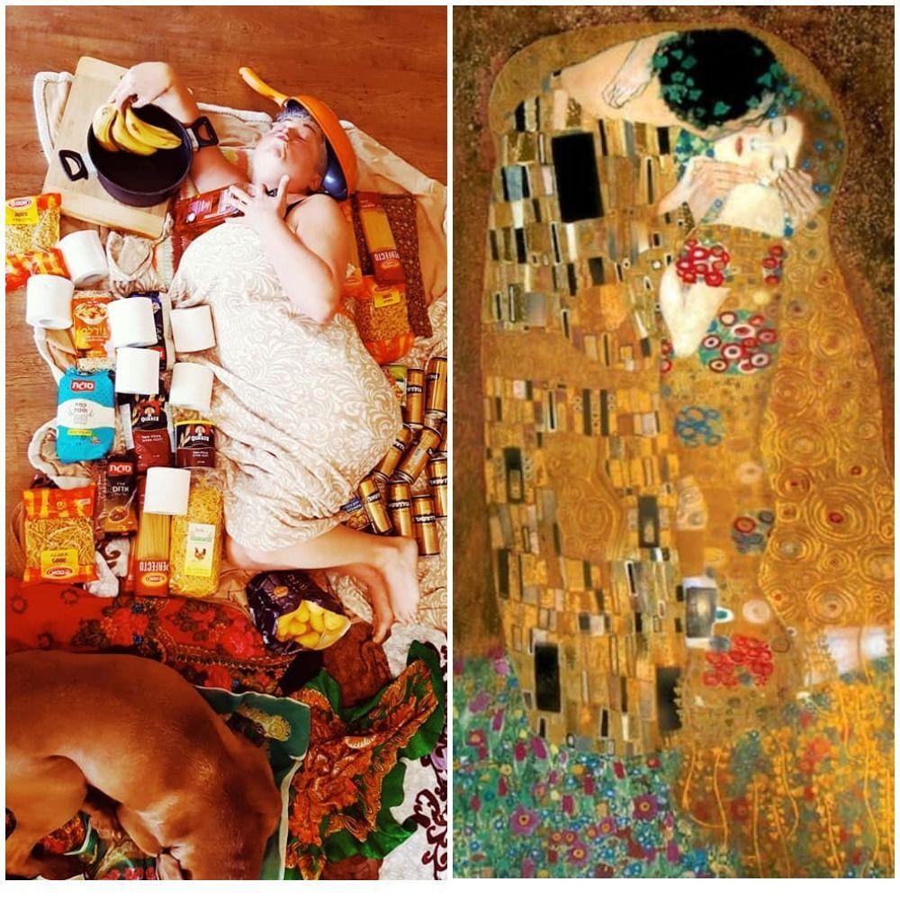 Il bacio di Gustav Klimt, 1907-08
