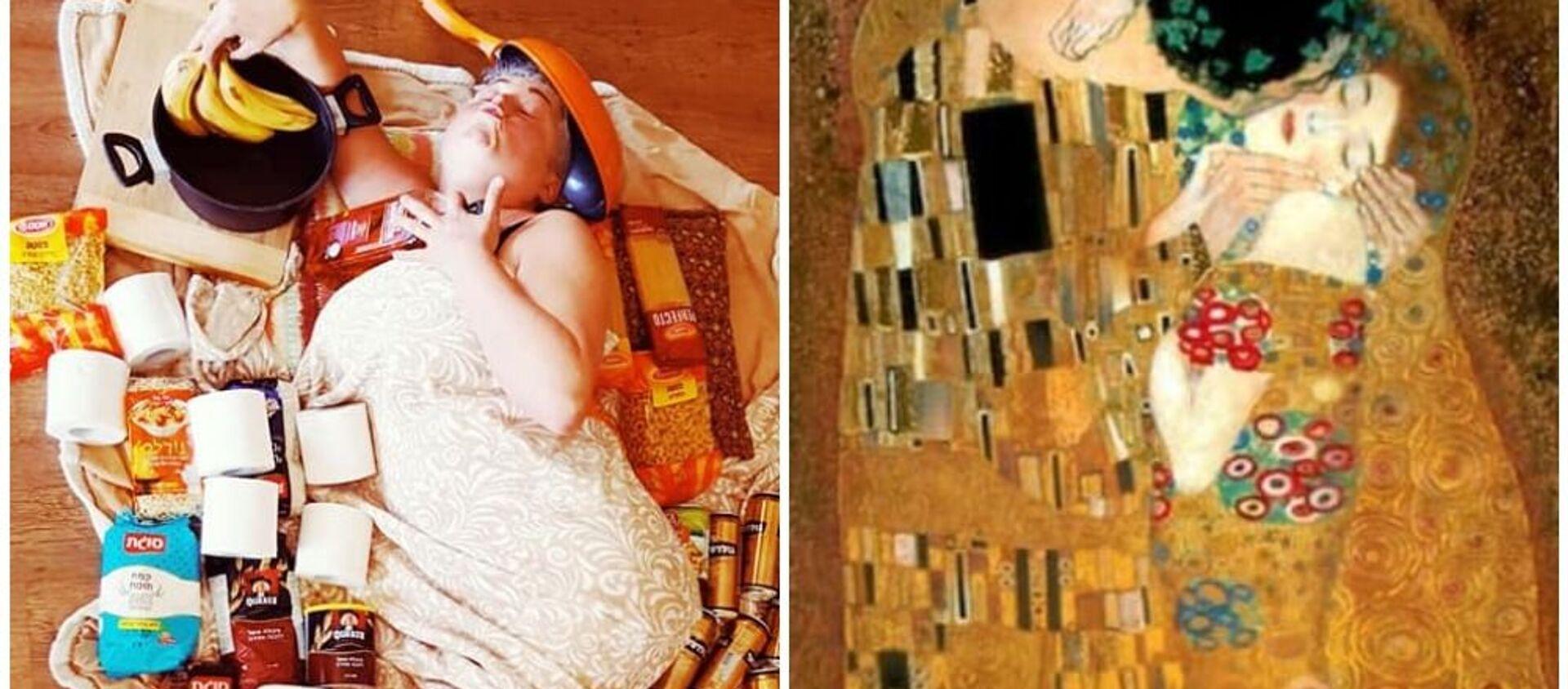 Il bacio di Gustav Klimt, 1907-08 - Sputnik Italia, 1920, 08.04.2020