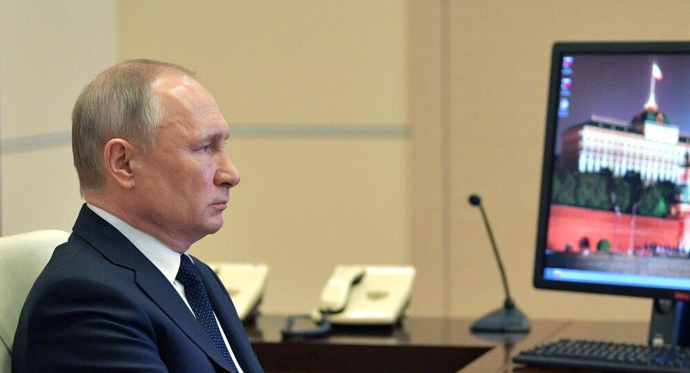 Il presidente della Federazione Russa, Vladimir Putin è intervenuto in un incontro con i governatori sulla situazione del coronavirus nel Paese.
