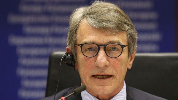 David Sassoli, presidente del Parlamento europeo (PE) - Sputnik Italia