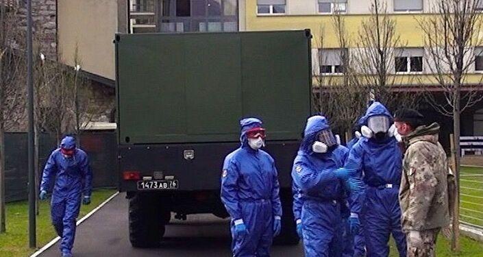 Specialisti russi al lavoro ad Alzano Lombardo e Nembro