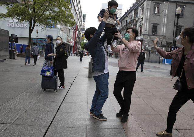 Wuhan dopo la fine del lockdown (foto d'archivio)