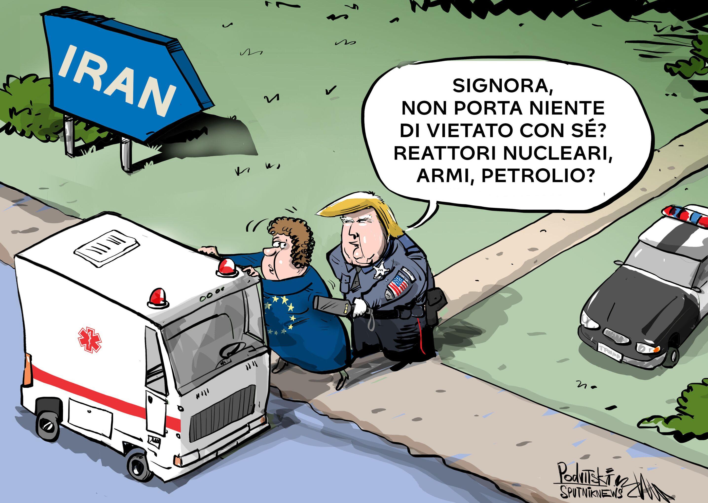 Il presidente degli Stati Uniti Donald Trump ha dichiarato di non opporsi alle forniture francesi di materiali medici all'Iran.