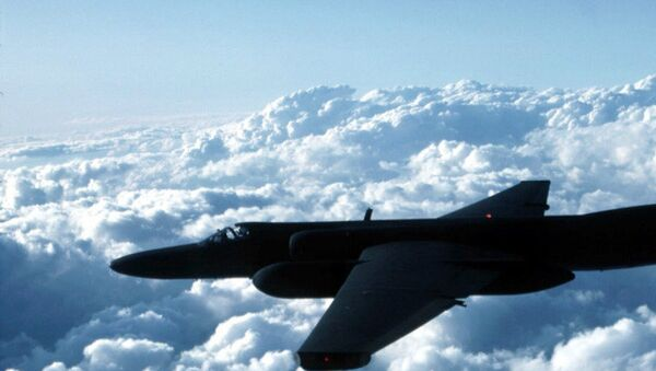 This undated US Air Force photo shows a U-2 spy plane which is expected to be used by the US in the war against terrorism - Sputnik Italia