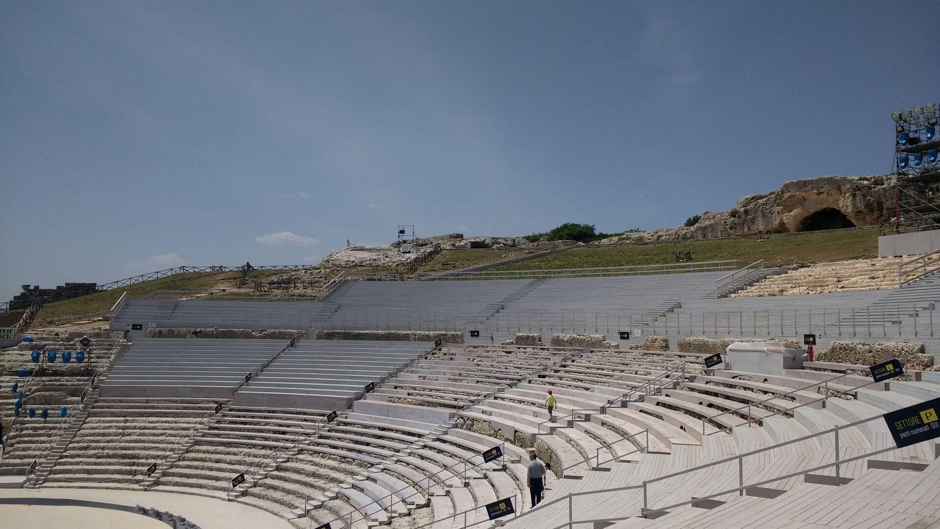 Il Teatro Greco in Sicilia  - Sputnik Italia, 1920, 13.08.2021