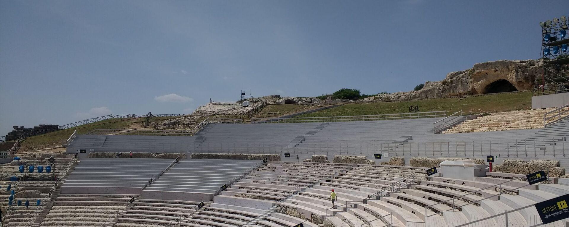 Il Teatro Greco in Sicilia  - Sputnik Italia, 1920, 07.08.2021