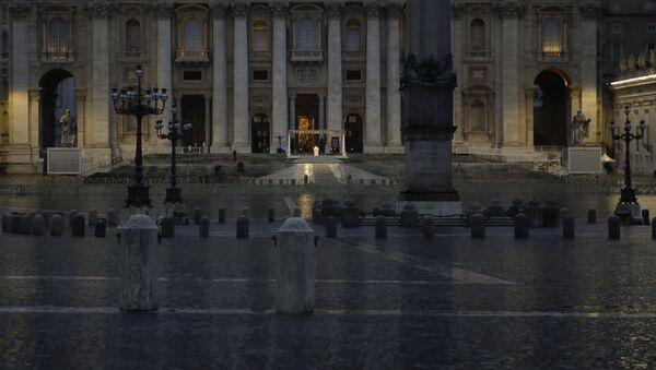 Urbi et Orbi del Papa Francesco, il 27 marzo 2020 - Sputnik Italia