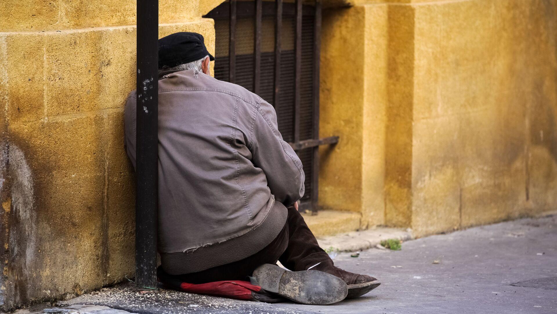 Un senzatetto - Sputnik Italia, 1920, 11.02.2021