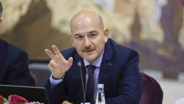 Il ministro degli Interni turco Suleyman Soylu  - Sputnik Italia