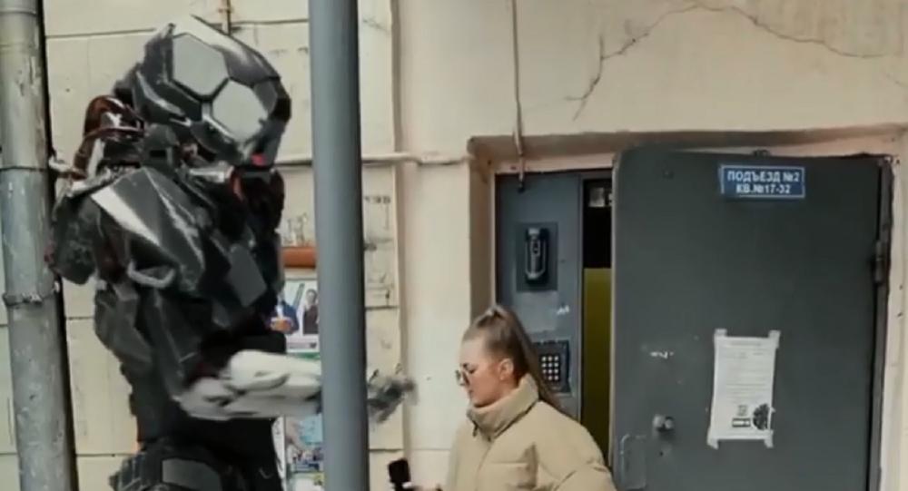 Robot controllano le autocertificazioni a Mosca