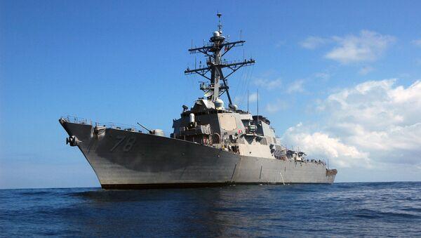 Il cacciatorpediniere Porter della Sesta Flotta degli Stati Uniti  - Sputnik Italia