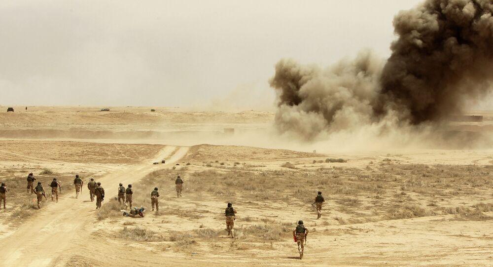 Esercitazioni nella base Besmayah