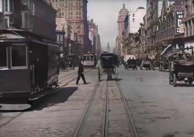 San Francisco nel 1906, in  4K