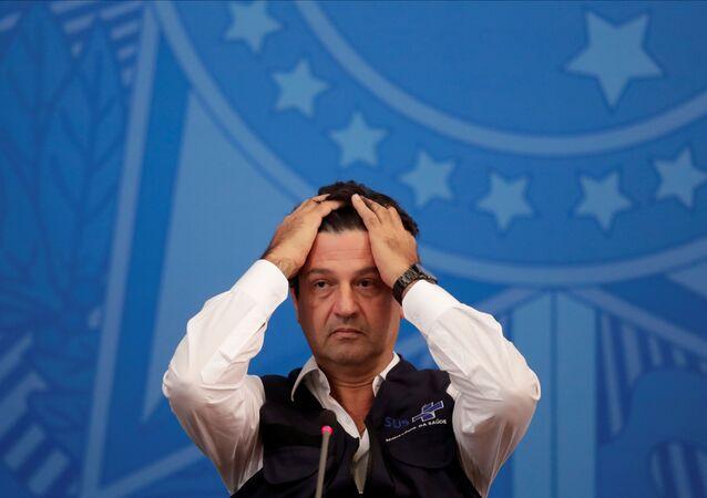 Luiz Henrique Mandetta, ministro della Salute brasiliano rimosso dal presidente Bolsonaro