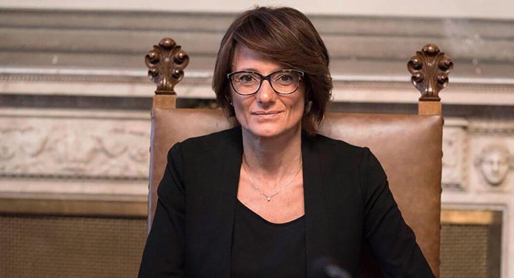 Elena Bonetti, ministra delle Pari opportunità e della Famiglia