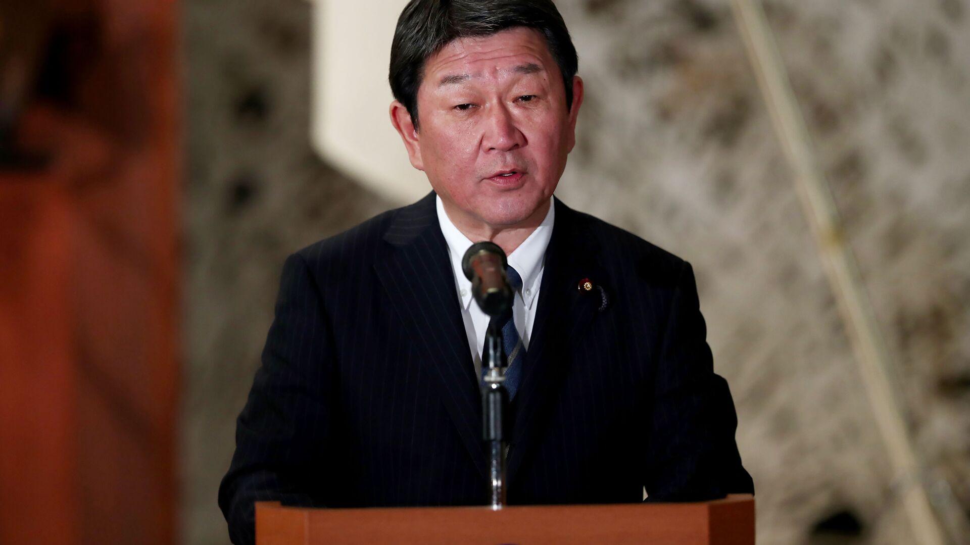 Il ministro degli Esteri giapponese Toshimitsu Motegi - Sputnik Italia, 1920, 22.08.2021
