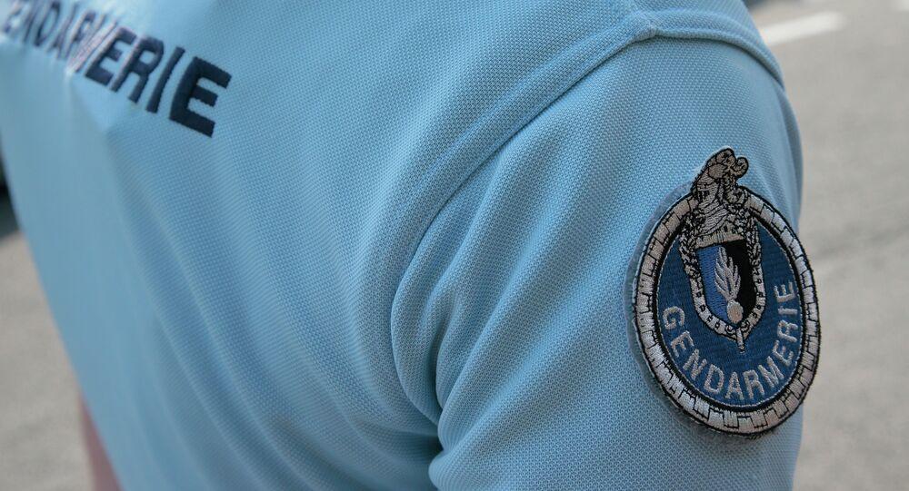Un gendarme (foto d'archivio)