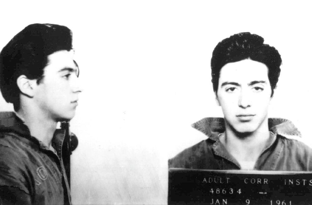 Al Pacino dopo l'arresto, 1961