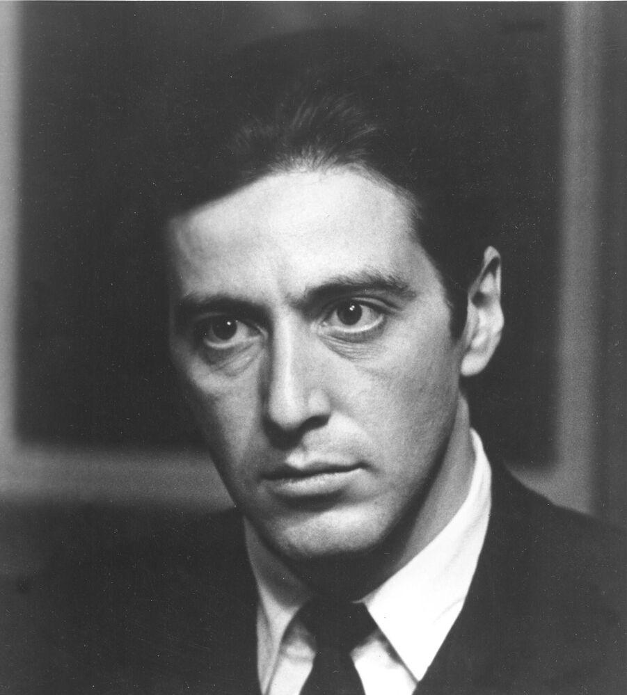 Al Pacino nel film Il Padrino