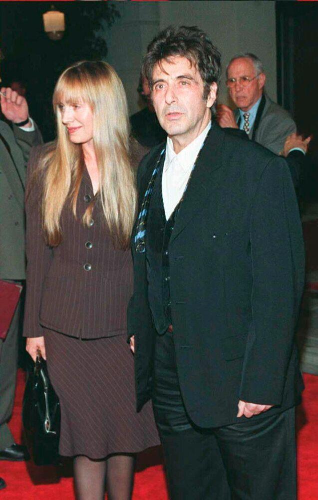Al Pacino con l'amica Lyndall Hobbs