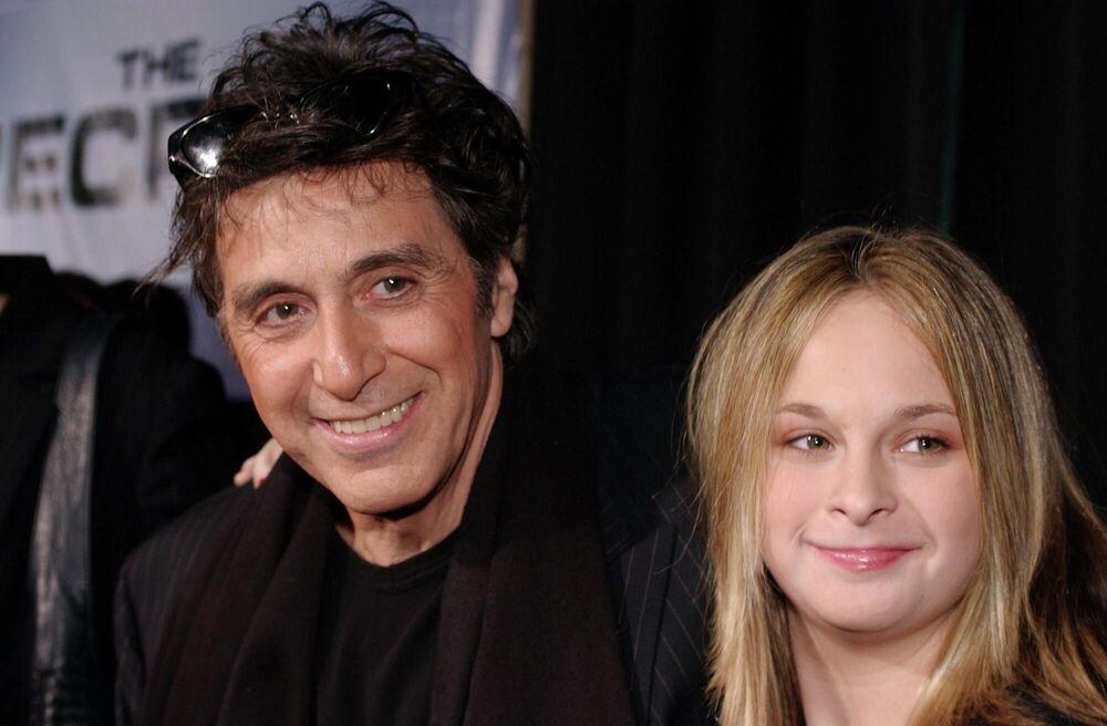 Al Pacino con sua figlia Giulia