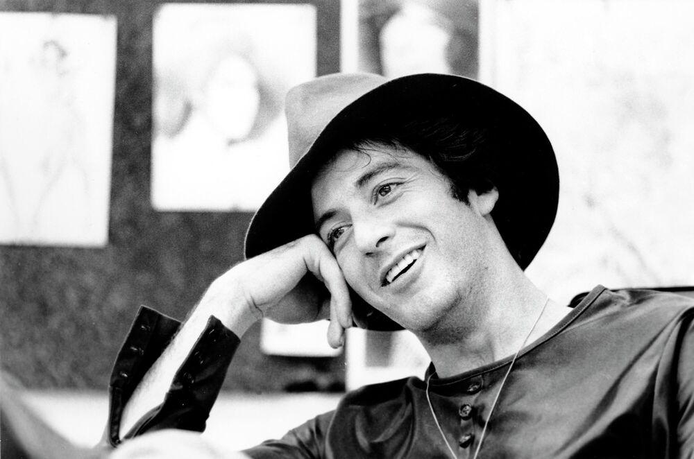 Al Pacino durante l'intervista, 1973