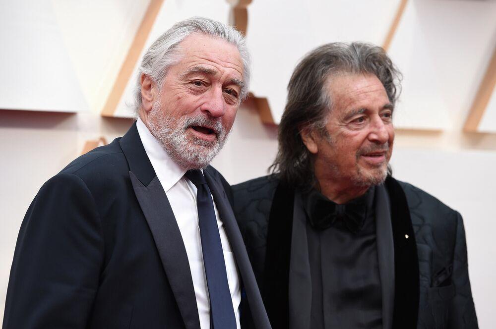 Robert De Niro a Al Pacino al premio Oscar