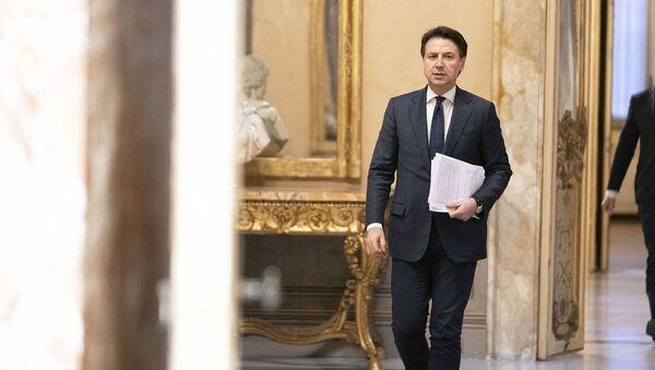 Il presidente del Consiglio Conte - Sputnik Italia
