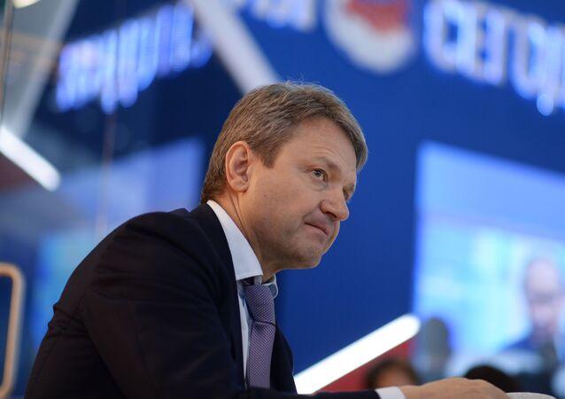 Il Ministro dell`Agricoltura russo Alexander  Tkacev