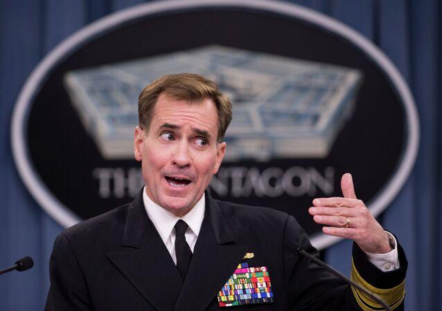 John Kirby, il portavoce del dipartimento di Stato americano