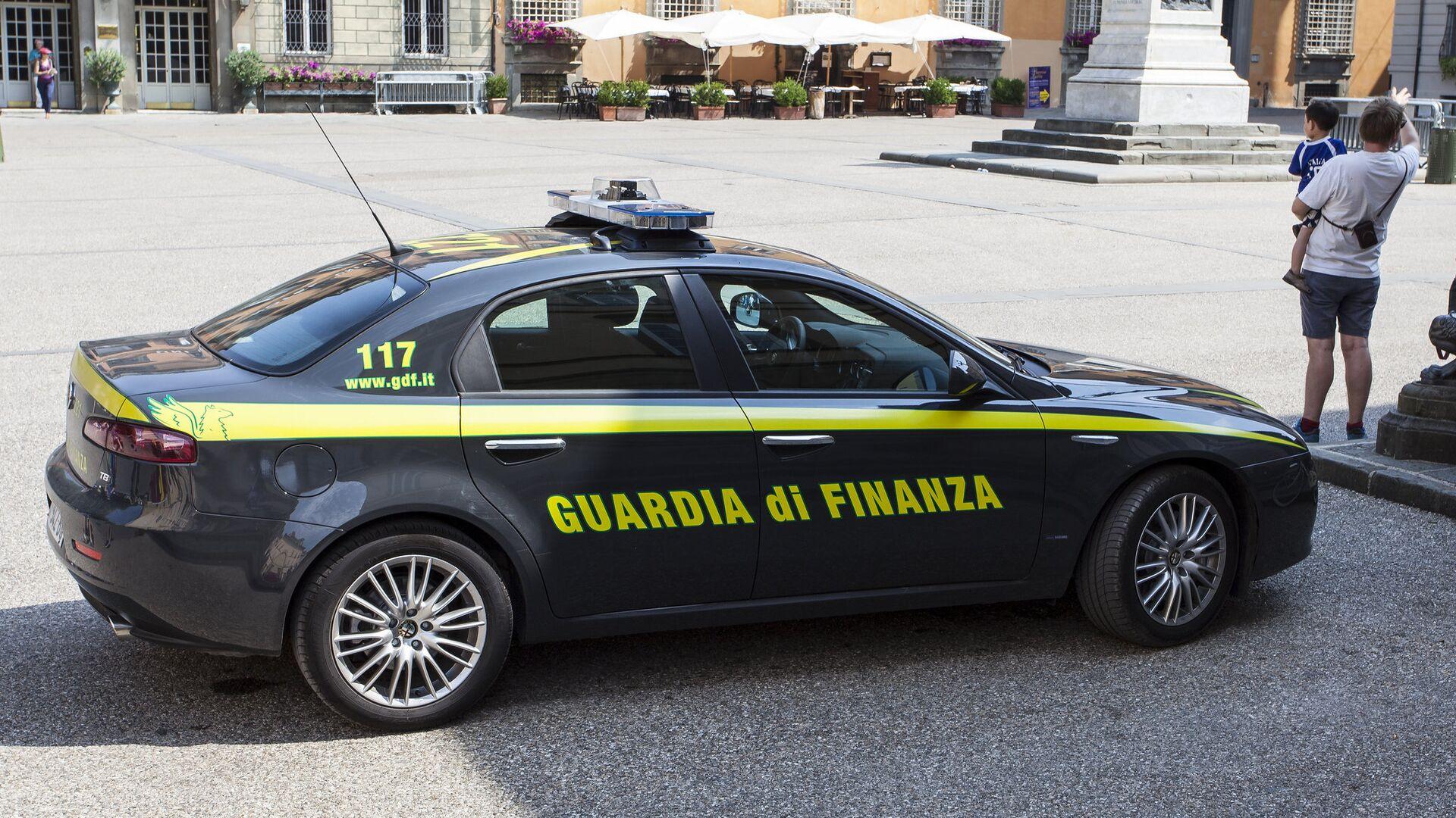Guardia di Finanza - Sputnik Italia, 1920, 14.06.2021