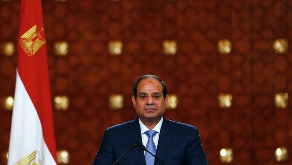Presidente egiziano Abdel Fattah al-Sisi - Sputnik Italia