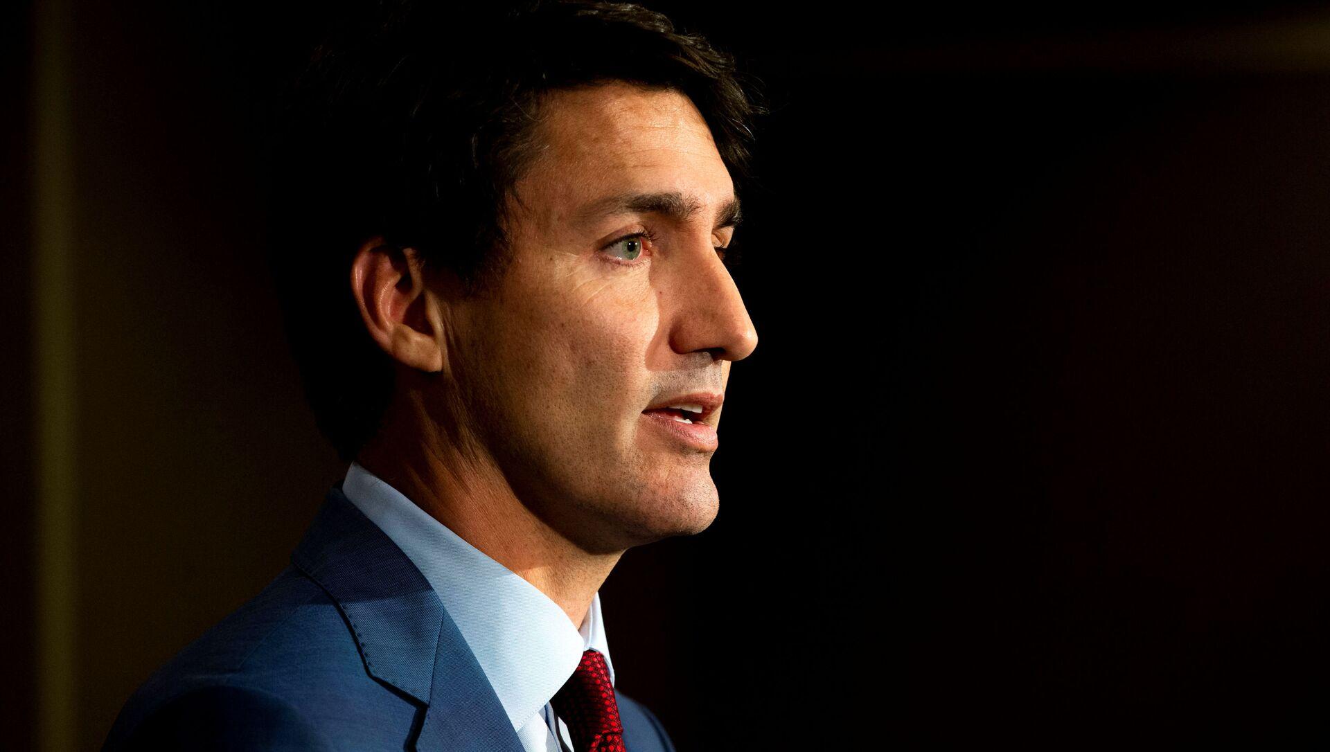 Il primo ministro canadese Justin Trudeau - Sputnik Italia, 1920, 27.04.2021
