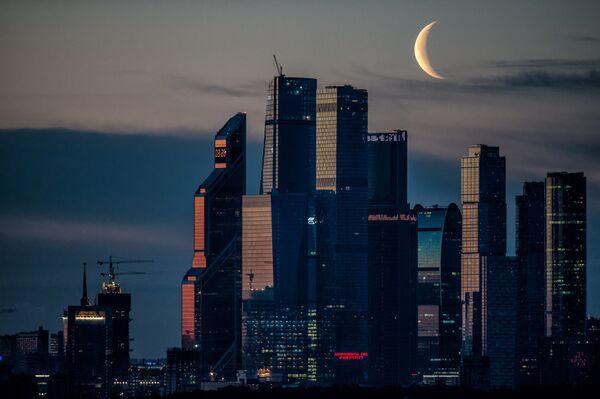 Moscow City al tramonto, Mosca, Russia - Sputnik Italia