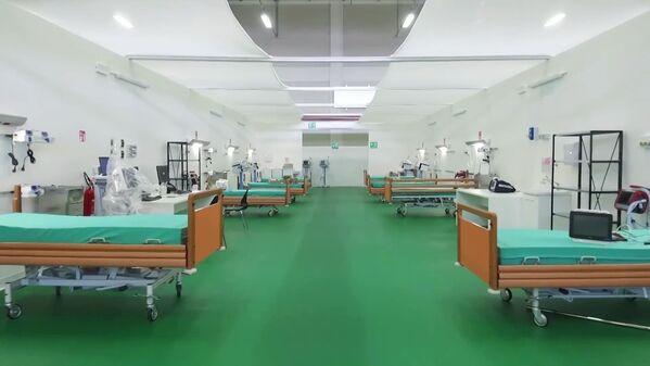 L'ospedale da campo a Bergamo - Sputnik Italia