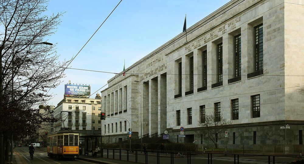 Il Palazzo di Giustizia di Milano, sede del Tribunale