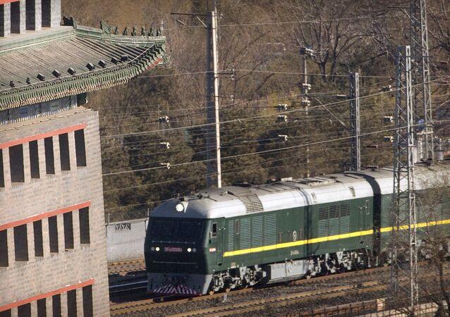 Treno di Kim Jong-un (foto d'archivio)