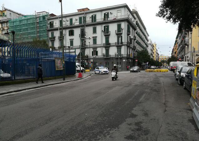 Coronavirus a Napoli in Italia